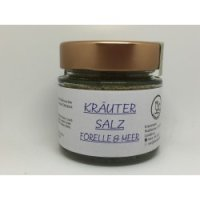 Kräutersalz - Forelle und Meer